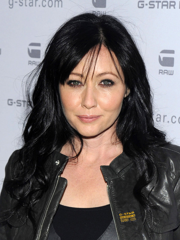 "FILE - In this Feb. 16, 2010 file photo, Shannen Doherty attends the G-Star Fall 2010 collection, in New York.  Doherty will compete on the upcoming spring season of ""Dancing With the Stars.""  (AP Photo/Peter Kramer, file) ORG XMIT: NYET218"