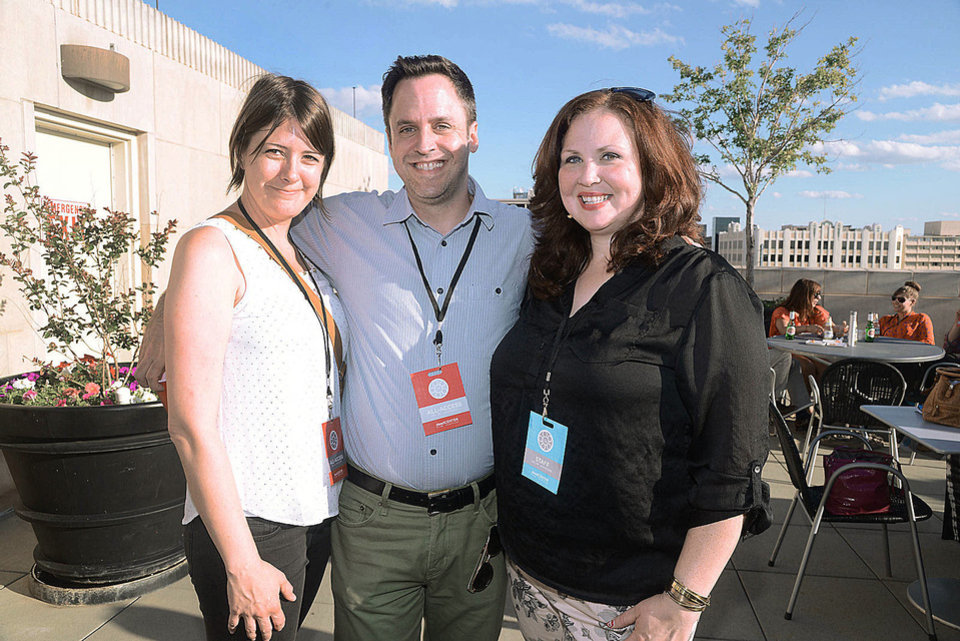 Photo - Sara McCombs, Kevin Ely, Kim Haywood. Photo by David Faytinger, for The Oklahoman