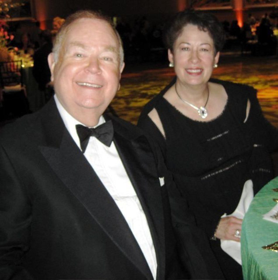 FIRST LADIES GALA....OU President David L. Boren and First Lady Molly  Shi Boren. (Photo by Helen Ford Wallace).