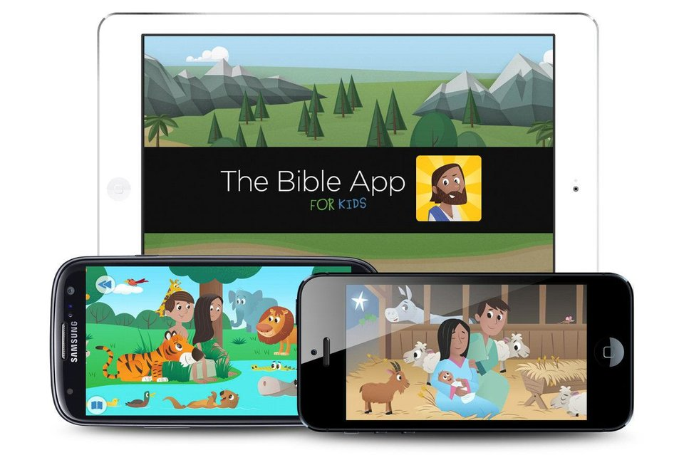 LifeChurch.tv recently unveiled its new YouVersion Bible app for children. Provided <strong></strong>