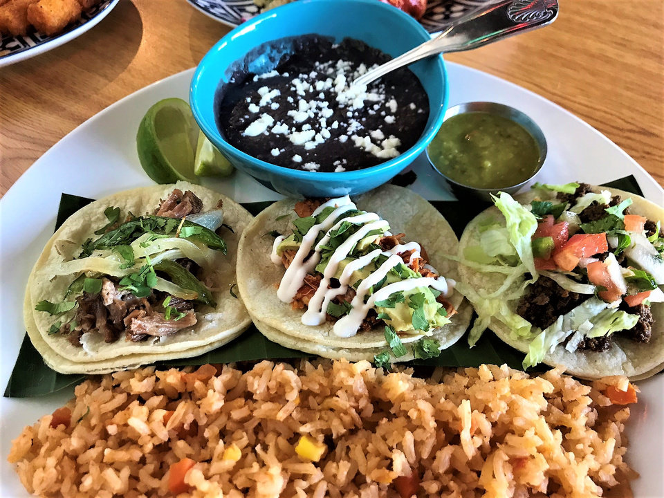 Photo -  Tacos are the specialty at Revolucion in downtown Oklahoma City. [Photo by Dave Cathey, The Oklahoman]
