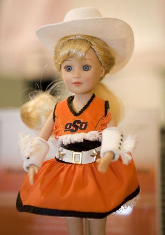 OSU RECEPTION...Madame Alexander Doll, the OSU cowgirl. (Photo provided)