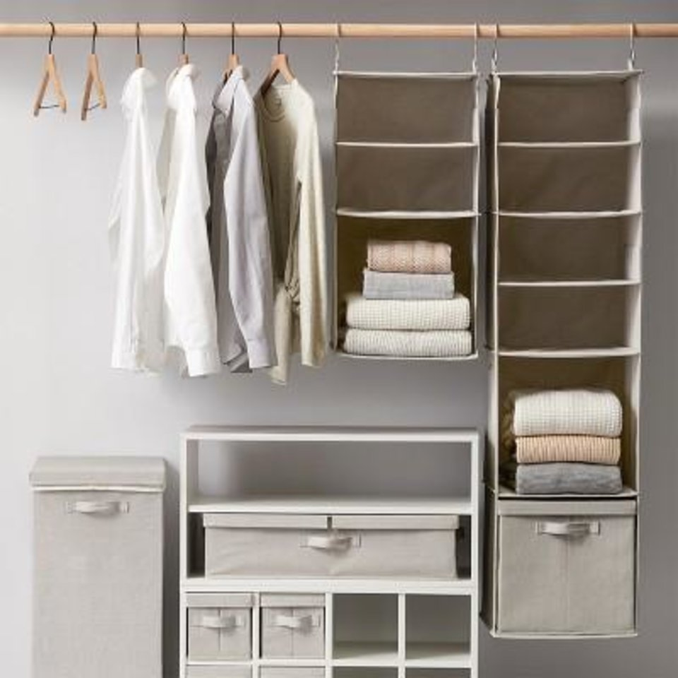 Photo - Closet organization pieces from the new Made By Design collection arriving June 23 at Target.