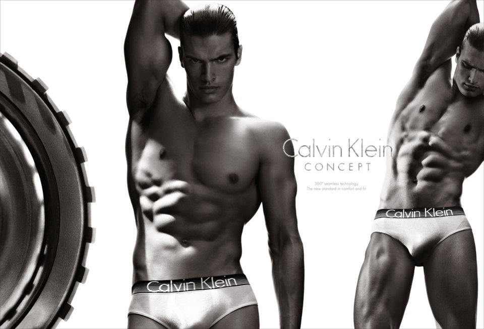 Photo - This undated screenshot provided by Calvin Klein shows the company's Super Bowl advertisement for the company's Concept brand. (AP Photo/Calvin Klein)