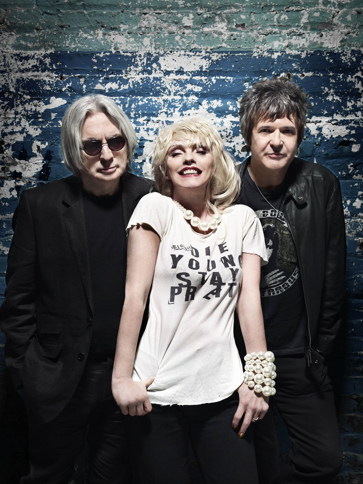 Blondie, from left, are Chris Stein, Deborah Harry and Clem Burke. PHOTO BY SCOTT SCHAFER      <strong></strong>