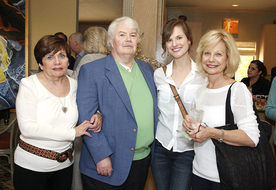 Marianne and Thomas Rumsey, Danielle and Christina Llan De Rosos.