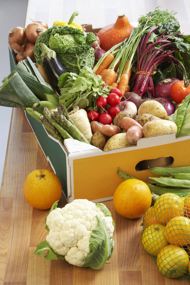Adding more vegetables to our diets can help lower the risk of heart disease. Martin Poole