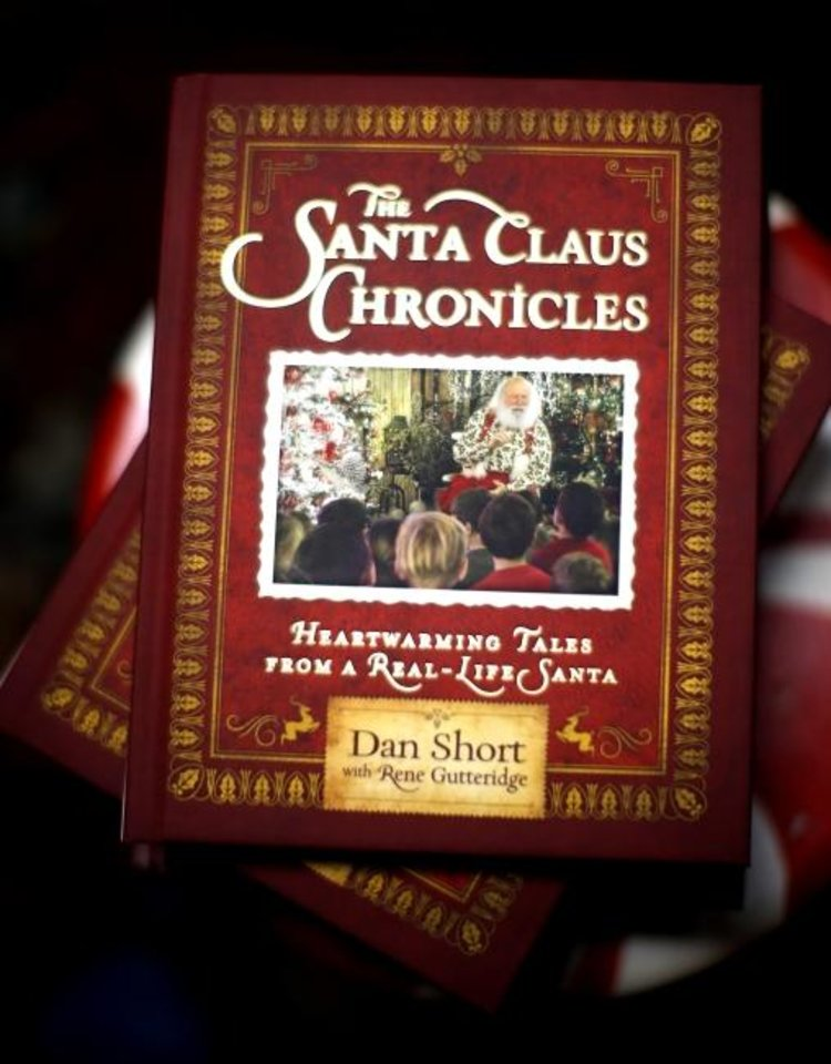 Photo -  Dan Short, who portrays Santa at North Pole City, has a new book called
