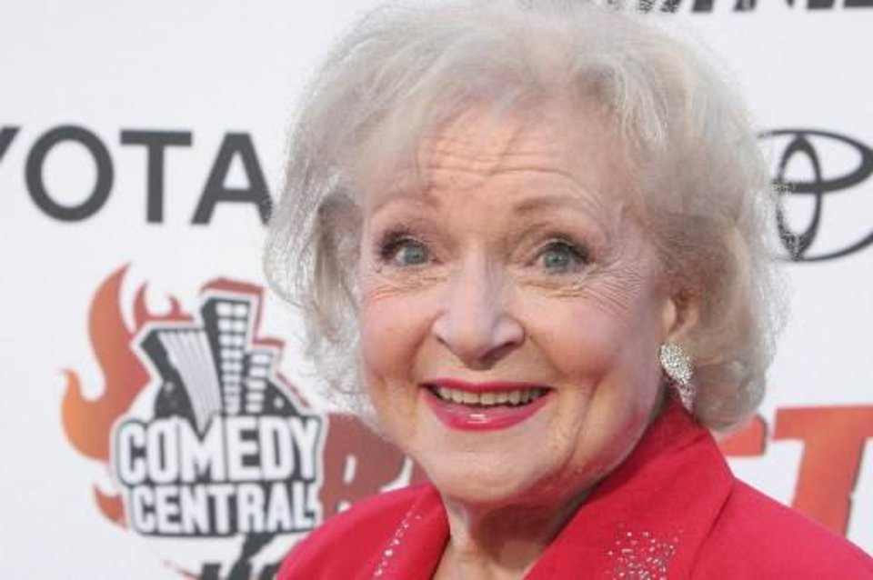 Betty White (AP photo)
