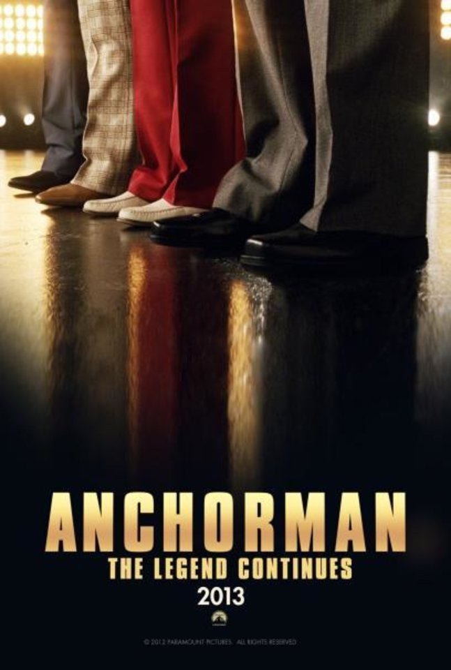 """Anchorman: The Legend Continues."" <strong></strong>"