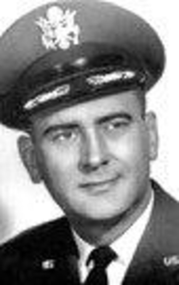 Photo - Air Force Lt. Col.  Clarence F. Blanton 46, of El Reno