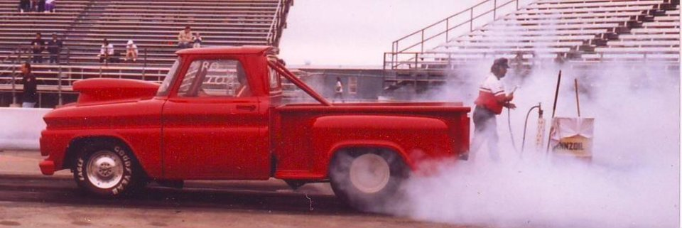 Dave Bowman's Chevy Truck at Mid America Dragway, Ark. City, KS.<br/><b>Community Photo By:</b> Martin Blaney<br/><b>Submitted By:</b> jimmy, guthrie