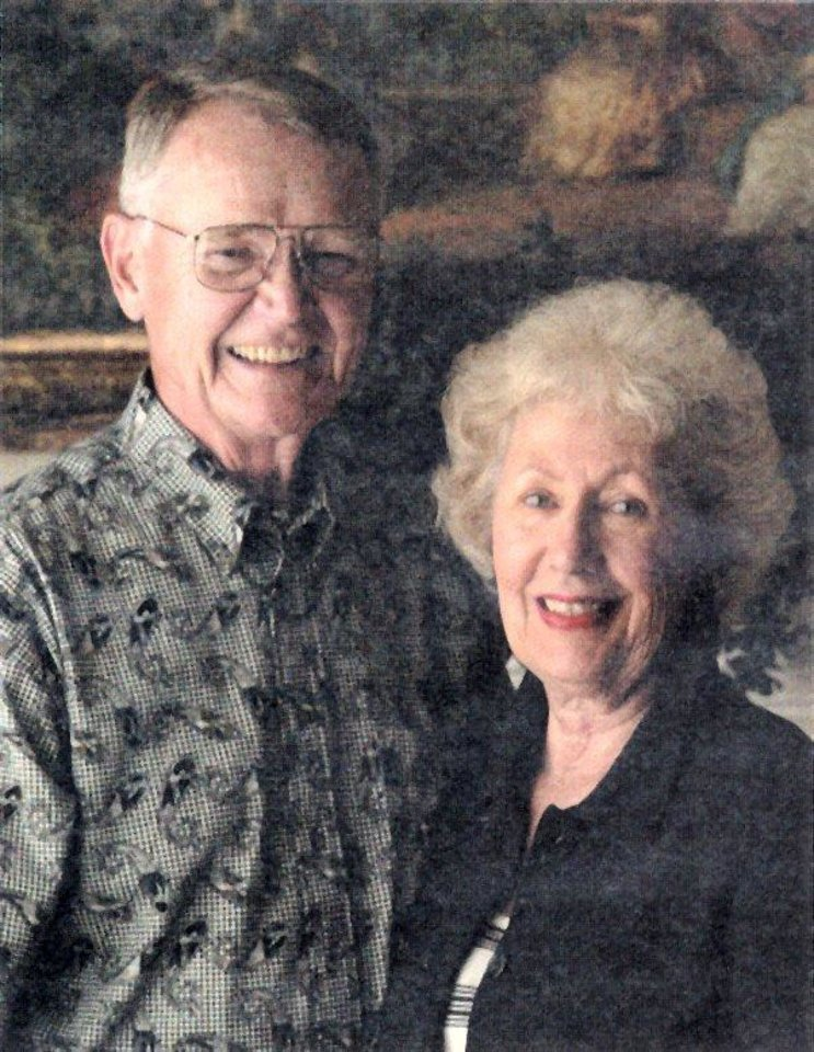 Bill and Joanne Harrah.  Bill is the grandsom of Frank Harrah, for whom the city of Harrah is named<br/><b>Community Photo By:</b> courtesy of Mr. and Mrs. Harrah<br/><b>Submitted By:</b> Karen, Harrah