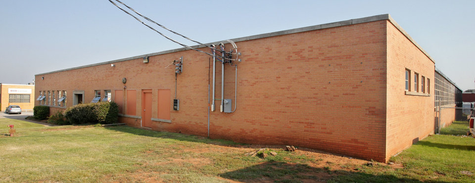 Photo - Warehouse at 425 E Hill St., soon-to-be home of HomeWetBar.com.  PAUL B. SOUTHERLAND - The Oklahoman