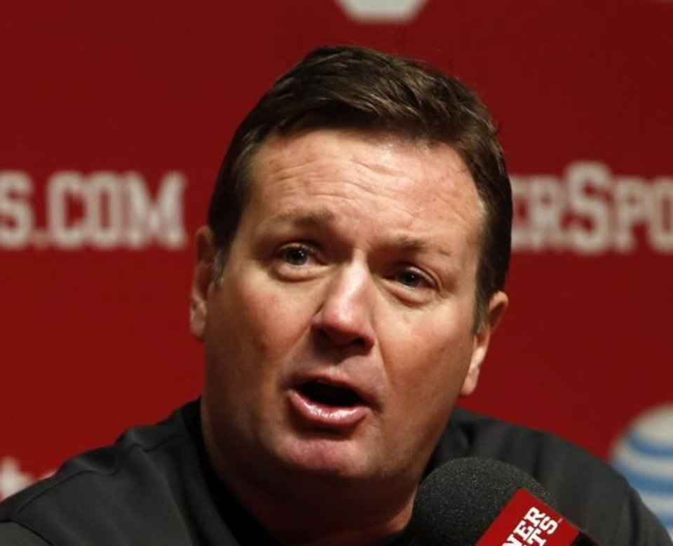 Bob Stoops commented on Monday's devastating tornadoes. OKLAHOMAN ARCHIVE PHOTO