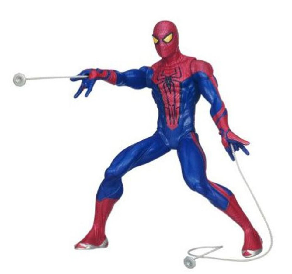 Shooting Spider-Man has two web shooters for double web-blasting action. $28.88 at Walmart. <strong></strong>