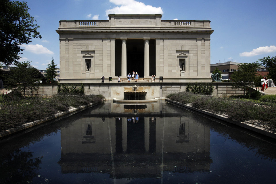 The newly reopened Rodin Museum in Philadelphia. AP Photos