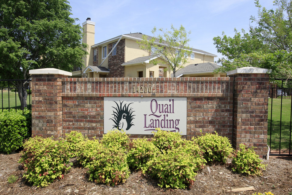 Brokers Tim McKay and Aaron Hargrove of Hendricks & Partners handled the sale of Quail Landing Apartments, 14200 N May Ave., in December. Photo by PAUL B. SOUTHERLAND, The Oklahoman archives