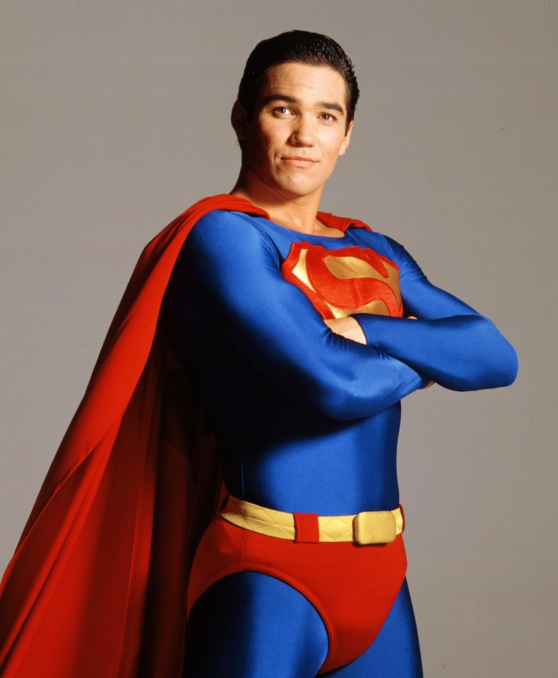 "Photo -  Dean Cain, actor who played Superman on the TV series ""Lois & Clark"""