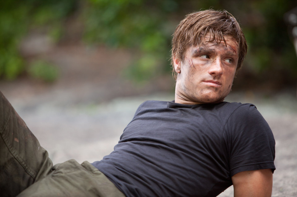 Photo - Josh Hutcherson stars as 'Peeta Mellark' in