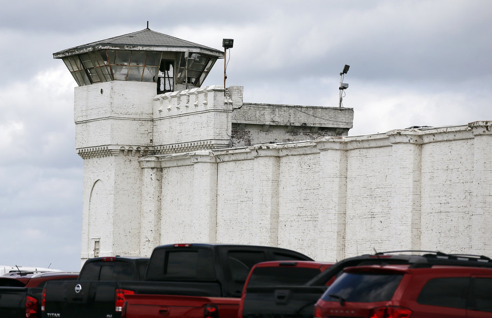 Photo - The grounds of the Oklahoma State Penitentiary for the scheduled execution of Richard Eugene Glossip in McAlester, Okla., Wednesday, Sept. 16, 2015. Glossip received a stay of execution for two weeks. Photo by Nate Billings, The Oklahoman
