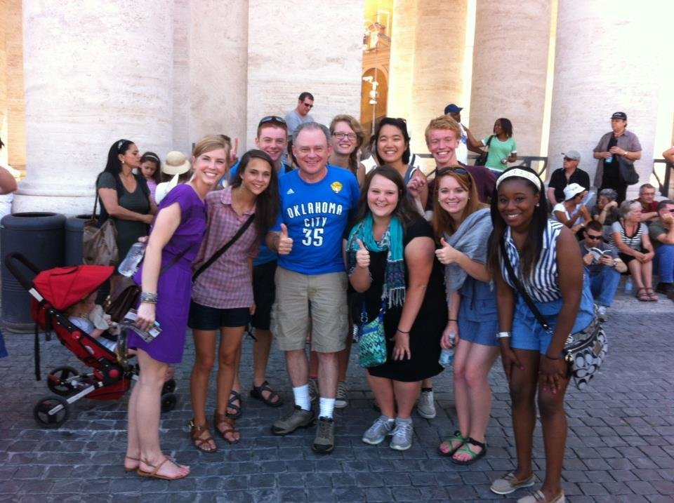 Thundering up at the Vatican in Vatican City.