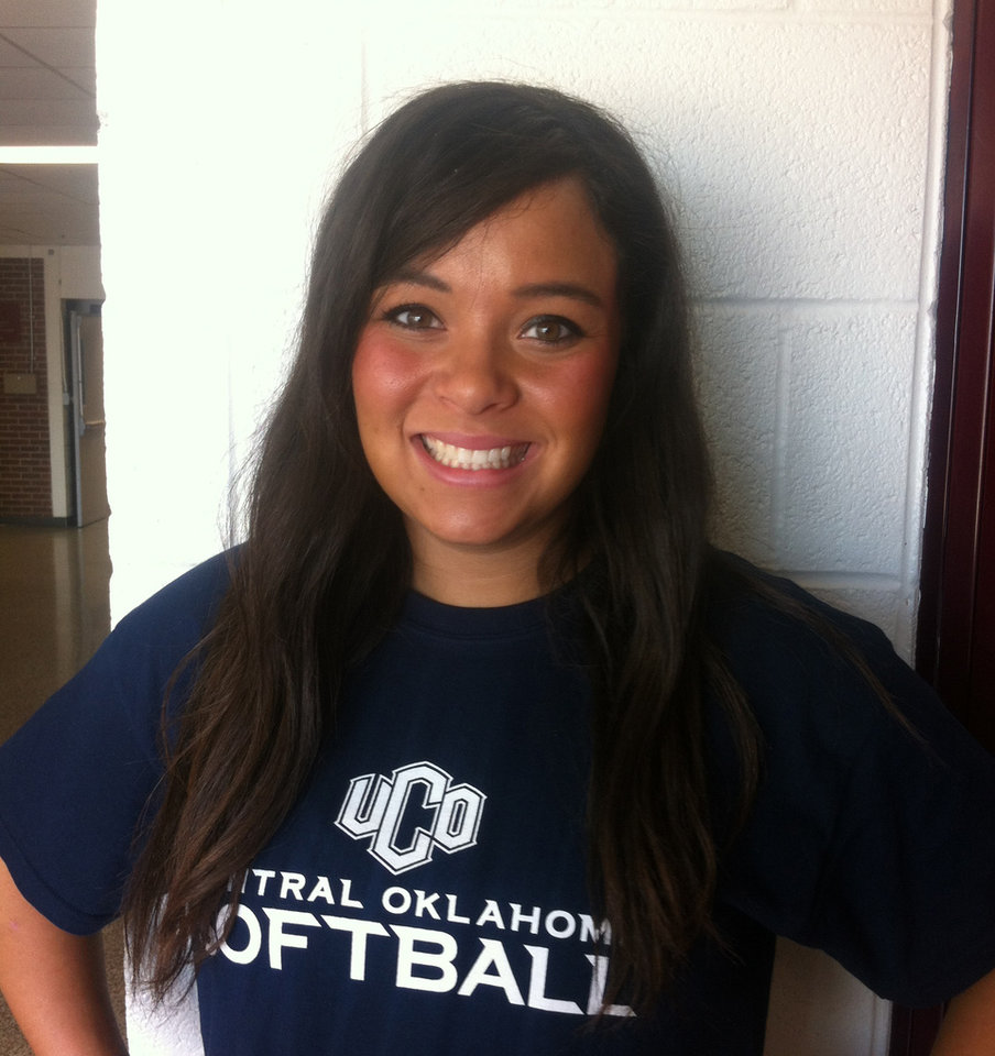 Lindsay Littles, Edmond Memorial. PHOTO PROVIDED