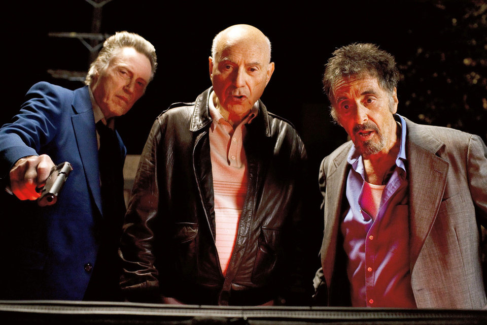 "Christopher Walken, Alan Arkin and Al Pacino star in ""Stand Up Guys."" ROADSIDE ATTRACTIONS PHOTO"