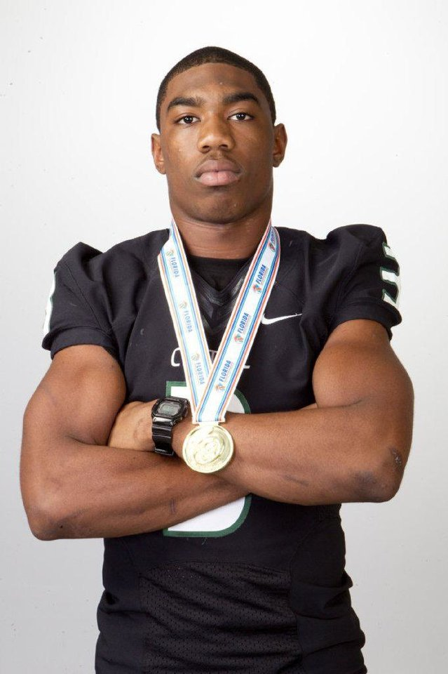 OU football recruit Ahmad Thomas. PHOTO PROVIDED <strong></strong>