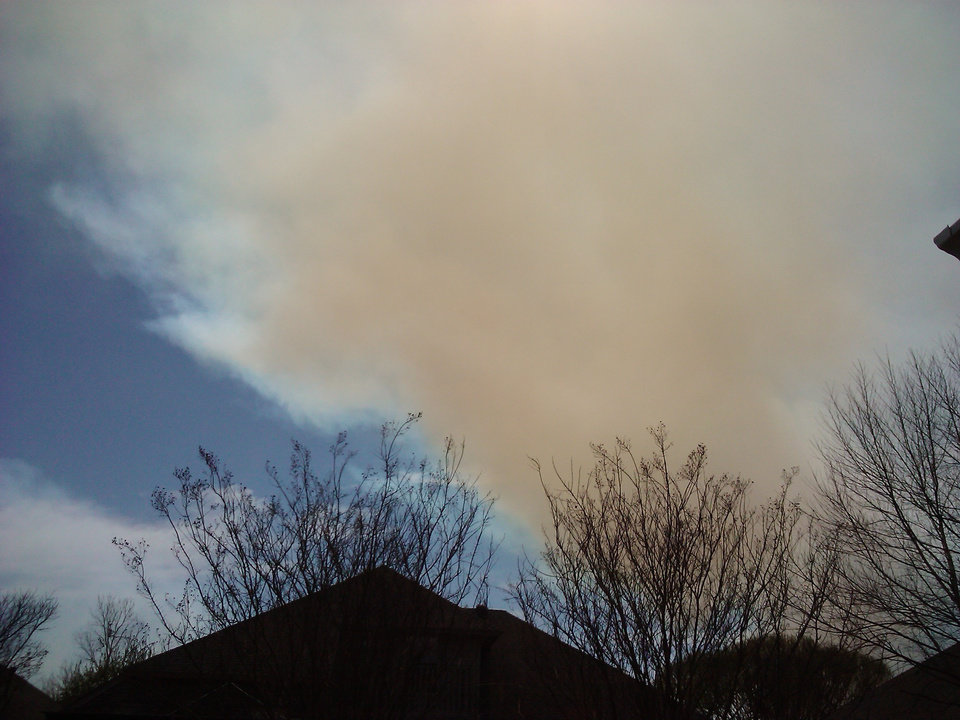 Photo - Goldsby fire
