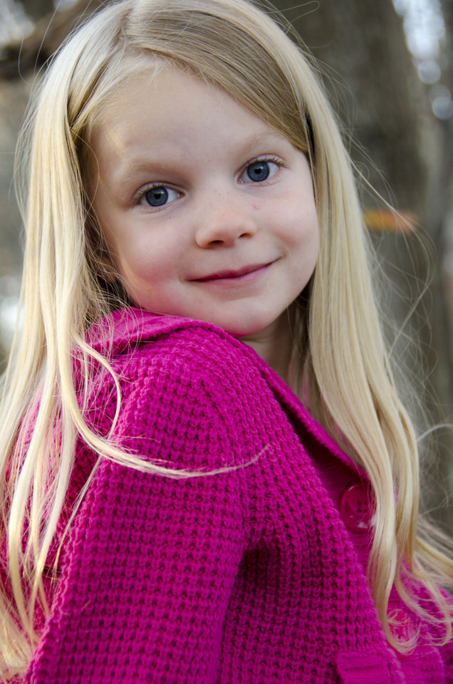 This 2012 photo provided by the family shows Emilie Alice Parker. Parker was killed Friday, Dec. 14, 2012, when a gunman opened fire at Sandy Hook elementary school in Newtown, Conn., killing 26 children and adults at the school. (AP Photo/Courtesy of the Parker Family)