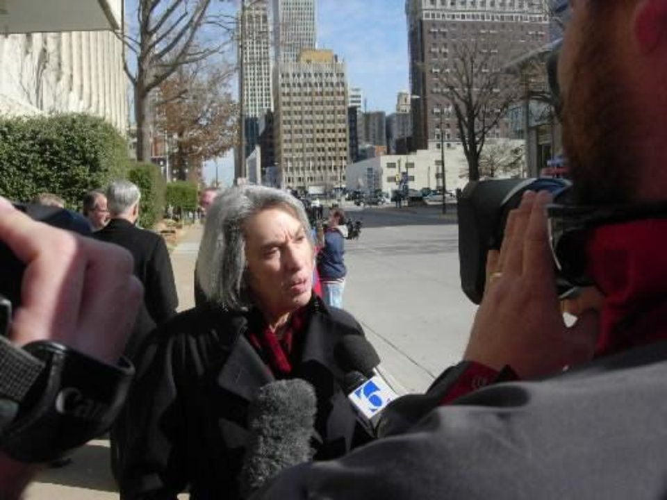 2009 file photo - Marcia Lowry, executive director of New York-based Children�s Rights, said reduced caseloads for child welfare workers is one of several reforms her group likely will request in a federal lawsuit. PHOTO BY Randy Ellis, THE OKLAHOMAN