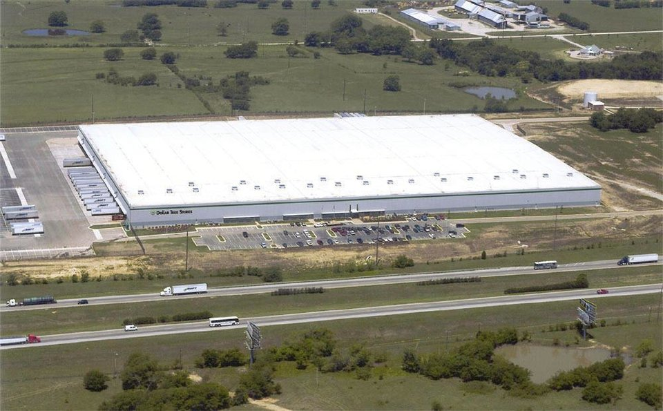 Dollar Tree's distribution center in Marietta, which will be expanded to 1 million square feet. PHOTO PROVIDED