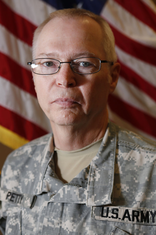 Chief Warrant Officer 5 Ronald Petty, the Oklahoma National Guard's last Vietnam veteran, will retire this month. Photo By Steve Gooch, The Oklahoman <strong>Steve Gooch</strong>