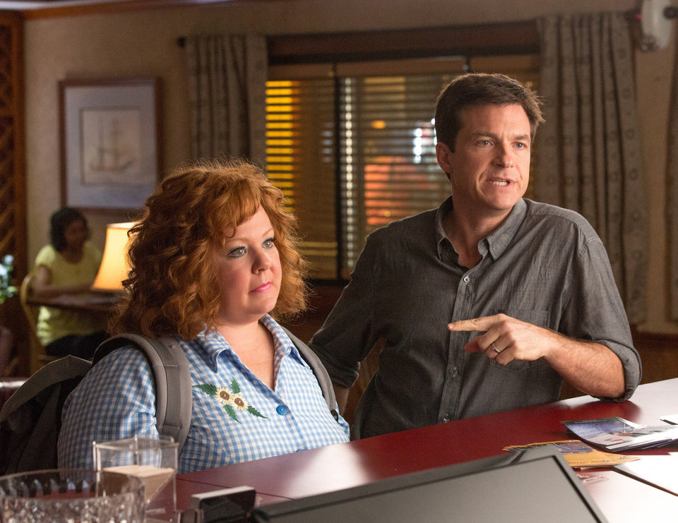 Jason Bateman and Melissa McCarthy in a scene from �Identity Thief.� UNIVERSAL PICTURES PHOTO