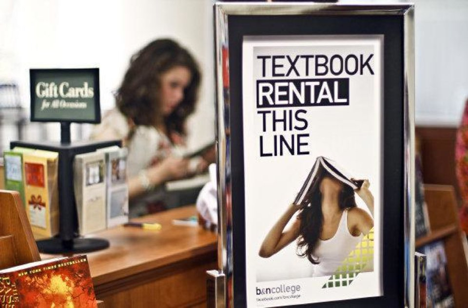 Photo - Students get some final items at the bookstore at the University of Central Oklahoma on Wednesday. PHOTO BY CHRIS LANDSBERGER, THE OKLAHOMAN  CHRIS LANDSBERGER - CHRIS LANDSBERGER