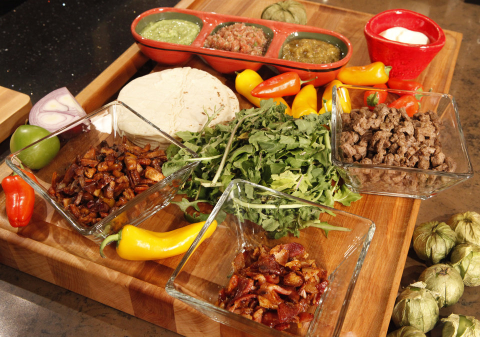 Photo - Make your homemade tacos the talk o' the town.  Photo by David McDaniel, The Oklahoman