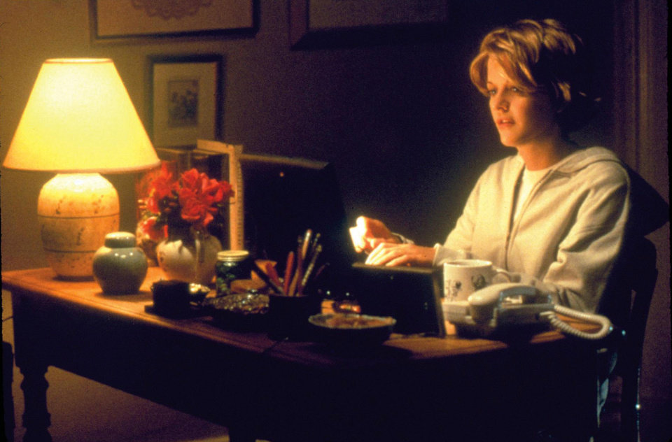 Photo -   This image released by Warner Bros. Home Video shows actress Meg Ryan in a scene from the romantic comedy