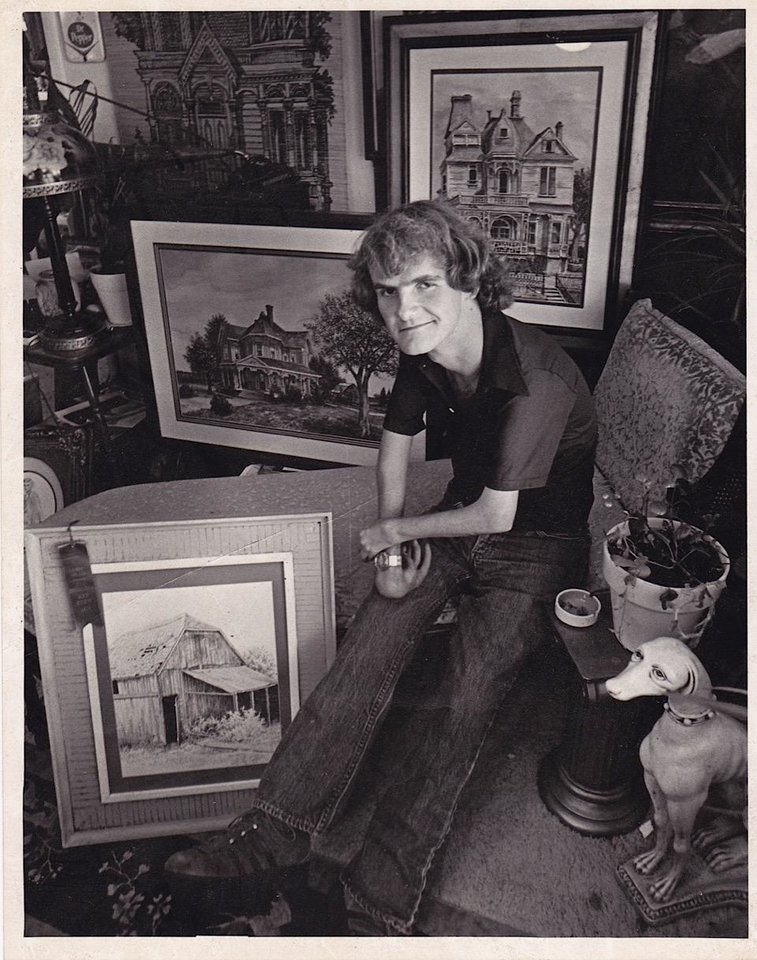 Photo -  Oklahoma City artist Greg Burns is one of 13 people profiled in