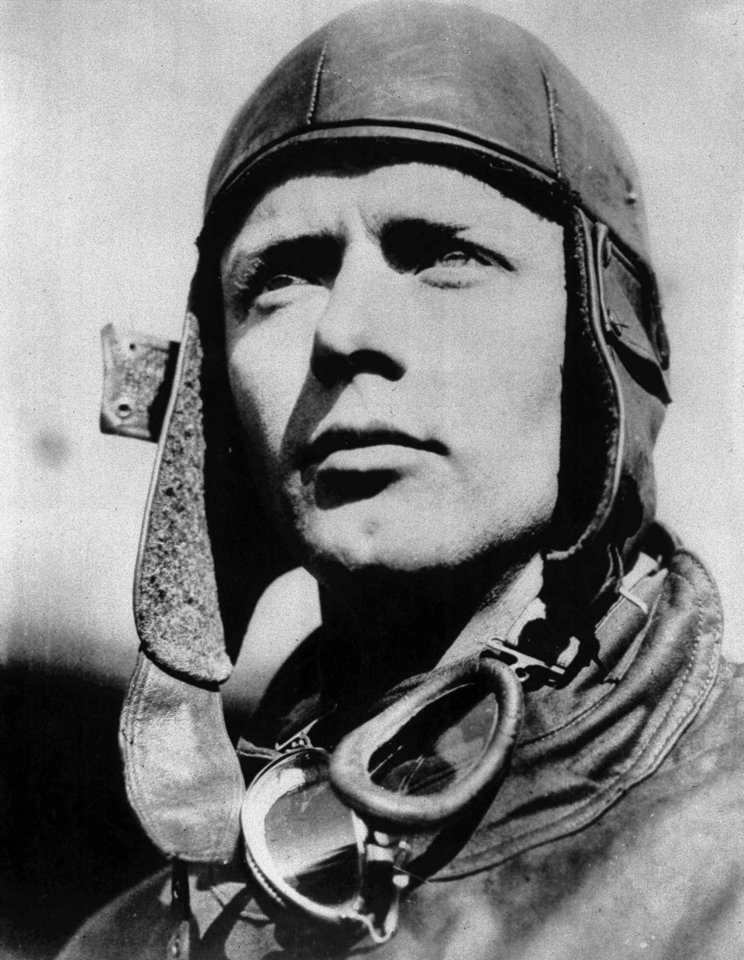 Photo - FILE - This 1932 file photo shows Charles A. Lindbergh. In the era of short-range flights, Linbergh chose Natal because of its proximity to Africa and good weather in an equatorial city that made it an ideal launching point for transatlantic flights to Africa and back. (AP Photo, File)