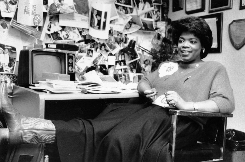 Help i am writing a paper on Oprah and 1984?