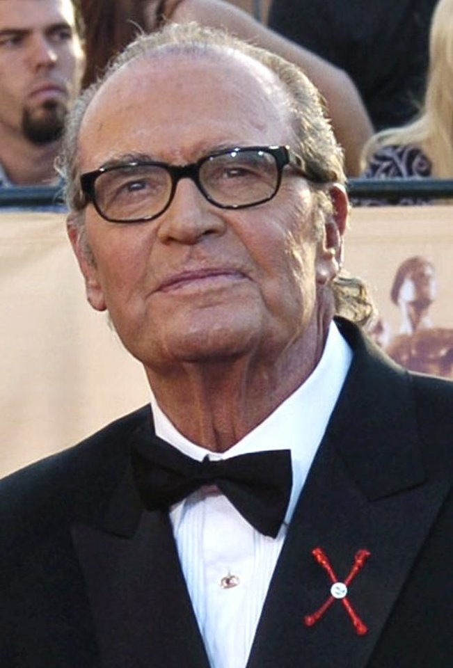 "Photo - FILE - In this Feb.  5, 2005 file photo, James Garner, arrives for the 11th annual Screen Actors Guild Awards in Los Angeles. Actor James Garner, wisecracking star of TV's ""Maverick"" who went on to a long career on both small and big screen, died Saturday July 19, 2014 according to Los angeles police. He was 86. (AP Photo/Chris Pizzello, File)"