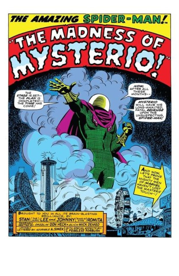 Photo -  Mysterio was created by Stan Lee and Steve Ditko and first appeared in