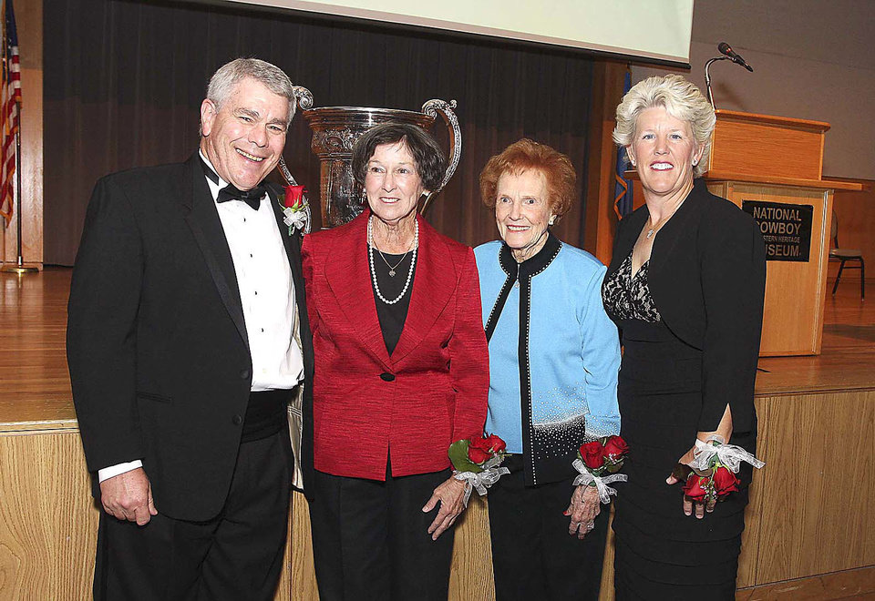 Photo - Honorees Scott Ferguson, Jeannie Thompson Rogers, Lucy Beeler,  LeeAnn Hammack Fairlie. PHOTO BY DAVID FAYTINGER__