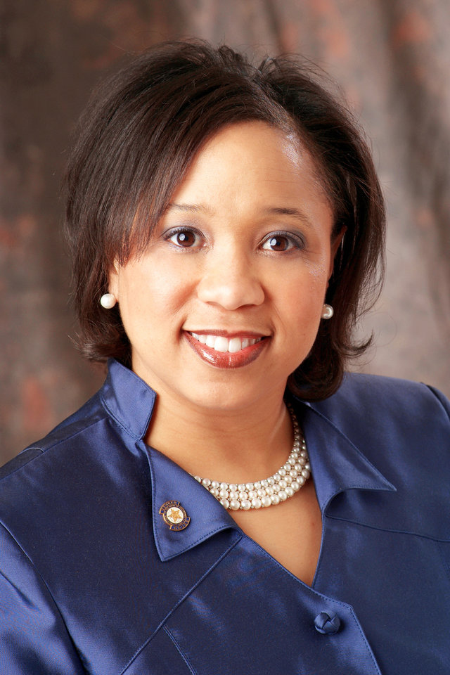 Rep. Anastasia Pittman,  D-Oklahoma City