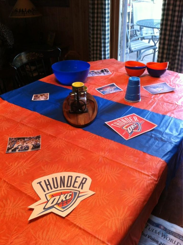Ready for a OKC Thunder watch party. (via @CowgirlTweets)