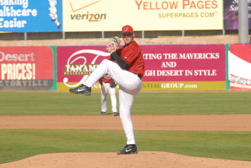 Photo - Brandon Weeden was drafted by the Yankees in 2002 and was later traded to the Dodgers. Photo provided
