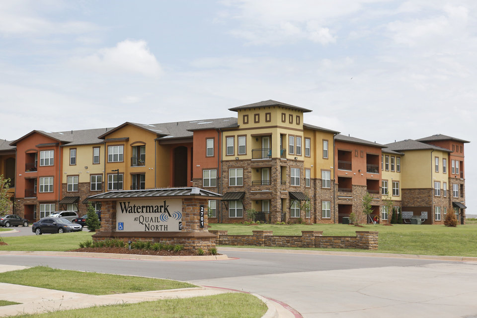 Photo - Irvine, Calif.-based Steadfast Income REIT Inc. recently bought Watermark at Quail North Apartments, 2701 Tuscana Blvd., near NW 150 and May, for $25.25 million from Indianapolis developer Watermark Residential, which built the complex in 2011-2012. Photo by Steve Gooch, The Oklahoman  Steve Gooch