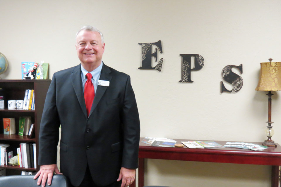 Photo - Edmond Superintendent Bret Towne. Photo provided.