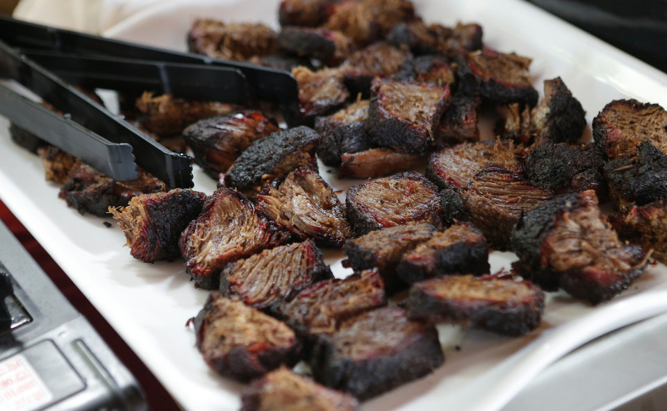 Photo - A plate of short ribs during the Open Flame event at American Propane in Oklahoma City, Thursday, May 16, 2013. Photo by Bryan Terry, The Oklahoman